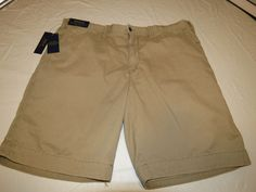 Men's Polo by Ralph Lauren shorts Relaxed Fit 710534020005 Boating Khaki 40 NWT #PoloRalphLaurenShorts #shorts