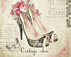 If you want to buy or collect vintage costume jewelry, learn what to look for and where to look. There is something for everyone who is interested in collecting vintage jewelry. Vintage Labels, Vintage Cards, Vintage Paper, Vintage Postcards, Decoupage Vintage, Decoupage Paper, Decoupage Shoes, Vintage Pictures, Vintage Images