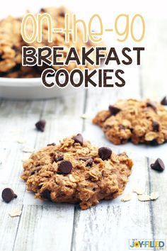 Lower Excess Fat Rooster Recipes That Basically Prime These Breakfast Cookies Are Perfect For Busy Mornings Or As An After School Snack Easy, Healthy, Delicious, And Even Gluten Free - And Kids Love Them Breakfast Cookie Recipe, Cookie Recipes, Breakfast Recipes, Health Breakfast, Brunch Recipes, Easy Recipes, Healthy Recipes, How To Make Breakfast, Breakfast For Kids