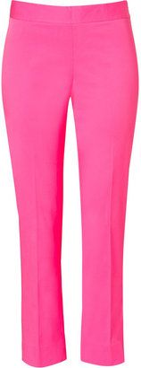 ShopStyle: DKNY Ultra Pink Perry Skinny Side Zip Ankle Pants