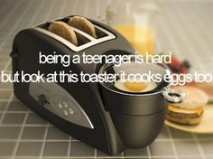 a) oh get over it b) thats a bad ass toaster!