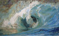 """""""Fiona's Wave"""" by Matthew Cusick, 2005 inlaid maps on wooden panel  48x78"""" Awesome map collaging skills!"""