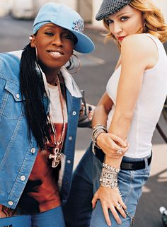 Missy Elliott and Madonna Rock denim for all ages and figures.