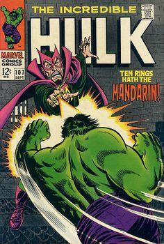 Incredible Hulk # 107 by Marie Severin, Frank Giacoia & John Romita