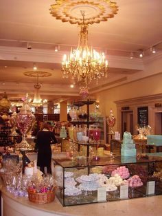 Fortnum & Mason's. Just drop me off and leave me there. Some of the best chocolates I've ever had.