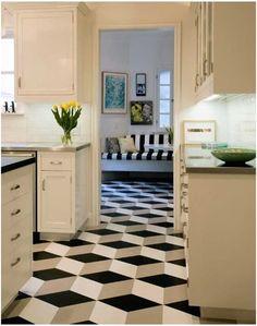 Centsational Girl » Blog Archive Pattern Files: Geometric Tile Floors » Centsational Girl