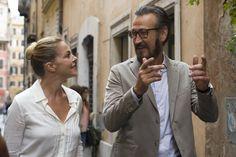"""Claudia Gerini e Marco Giallini in """"Tutta colpa di Freud"""""""
