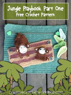 My Jungle Playbook Part One - Free Crochet Pattern | Creative Crochet Workshop