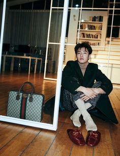 Kang Ha Neul is a charming man in 'Arena Homme +' Magazine! Korean Men, Korean Actors, Dramas, Kang Haneul, Why Im Single, Gong Hyo Jin, Cool Poses, Pose For The Camera, Charming Man