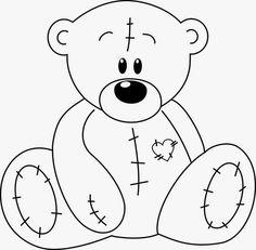 Riscos graciosos (Cute Drawings): Riscos de ursinhos e pandas (Bears, teddy bears and pandas)