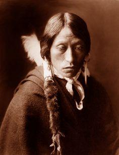 Jicarilla man, photographed by Edward S. Curtis, ca. 1905.