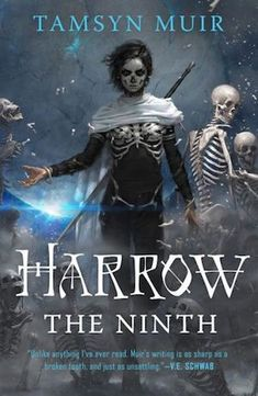 EBook Harrow the Ninth (The Locked Tomb Trilogy Book Author Tamsyn Muir, Fantasy Book Covers, Fantasy Books, Cool Book Covers, Fantasy Fiction, Fantasy Series, Fantasy Artwork, Got Books, Books To Read, Sci Fi Books