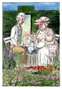 Ellinor's Garden Tea by *cidaq