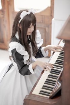 Maid Cosplay, Asian Cosplay, Cosplay Girls, Maid Outfit, Maid Dress, Victorian Maid, Boys Dress Clothes, Beautiful Girl Wallpaper, Maid Uniform
