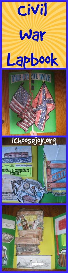 Civil War Lapbook #homeschooling