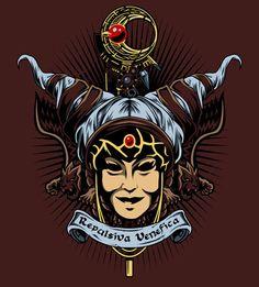 Repulsiva Venefica by liu-psypher Power Rangers Poster, Power Rangers Megazord, Go Go Power Rangers, Rita Repulsa, Diy Resin Art, Mighty Morphin Power Rangers, Dark Night, Tiger, Sci Fi