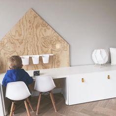 Baby Boy Rooms, Baby Room, Home Decor Furniture, Diy Home Decor, Ikea Stuva, Girl Desk, Kids Corner, Kids Bedroom, Interior Inspiration