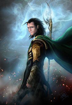 Loki by *clefchan on deviantART