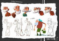 Ludo Gavillet - portfolio: janvier 2014 Character Design Inspiration, Character Design, Character Illustration, Illustration Character Design, Sketch Design, Cartoon Design, Character Design Animation, Character Poses, Character Design References