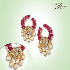 Mesmerizing rubies, illuminating diamonds, elegant pearls and a stroke of genius! Come, take a #CloserLook.