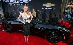 2014 Corvette Stingray Captain America Scarlett Johansson