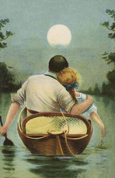 A Romantic Moonlit Ride...