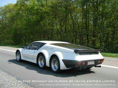 Renault Alpine A 310-Pack V6+V6 édition limitée.