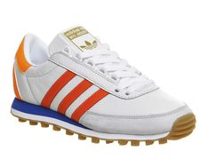 Adidas, Nite Jogger, Vintage White Solar Orange Blue