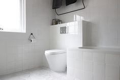 minimal white bathroom // Allspice Design