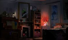 Gorgeous concept art by Rémi Salmon for upcoming animated film The Ghosts of P è re Lachaise. Environment Concept Art, Environment Design, Game Environment, Bg Design, Color Script, Chula, Animation Background, Matte Painting, Visual Development