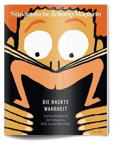 Suddeutsche Zeitung Magazin / artwork by Jean Julien