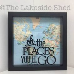 vacation fund shadow box - Google Search