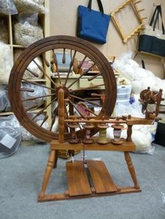 Spinning Wheel - I recognize this room! @Beth Nativ Nativ Shearer Smith
