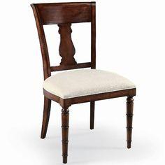 BN-383-501 Bernhardt Market Street Splat Back Side Chair