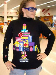 fantastic ugly christmas sweater