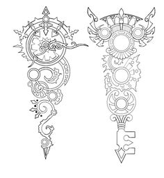 Google Image Result for http://www.deviantart.com/download/143376929/Steampunk_Clock_and_Key_tattoo_by_Annikki.jpg