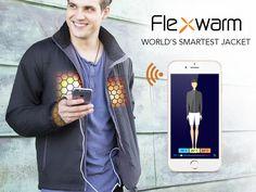 Flexwarm - Active Climate Control Heated Jacket by Flexwarm — Kickstarter