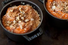 Double-Baked, Coconut and Macadamia Nut Sweet Potatoes