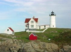 Nubble Cape Neddick Lighthouse, York ME (Only 30 minutes from Durham,NH)