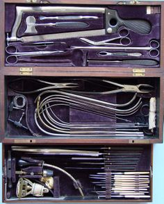 US Civil War Surgeon's Kit