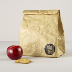 Brown Paper Bag Lunch Bag, too cute even for Mr. High School : (