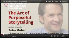 Film Producer Peter Guber Discusses The Art Of Purposeful Storytelling In Creating Compelling Messaging For Campaigning