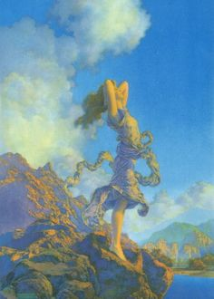 Art of Maxfield Parrish on Clothing, Mugs and Stationary / MasterPiece Art on imgfave