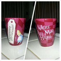 "Alice in Wonderland shot glass. I'm surprised it doesn't say ""drink me"""