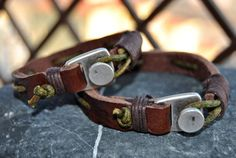 FREE SHIPPING  Couple bracelet leather men bracelet by FosforStore, $68.00