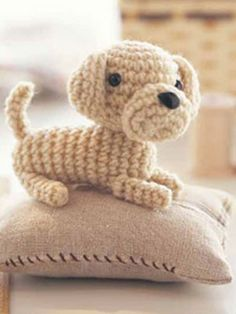Crochet Puppy: free pattern