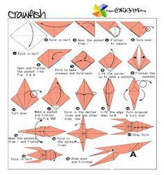 Crawfish Origami