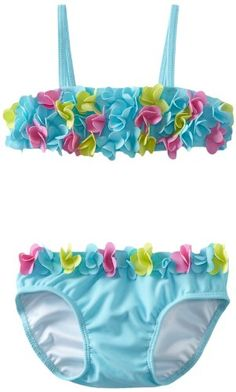 Kate Mack Baby-Girls Infant Hula Flowers Swim Bikini for only $32.00 You save: $22.00 (41%)