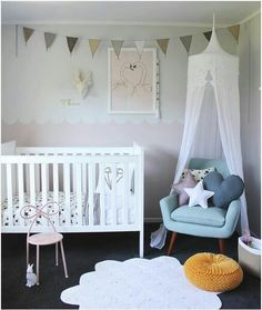 Give the nursery or kid's room a loving style with heart décor!Ideas and inspiration by Kids Interiors