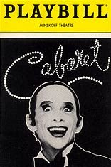Production information including a full synopsis and song list of the world famous Cabaret the Musical which has delighted audiences on Broadway and London. Broadway Musicals, Broadway Nyc, Broadway Plays, Broadway Theatre, Broadway Shows, Broadway Posters, Broadway Playbill, Theatre Posters, Movie Posters